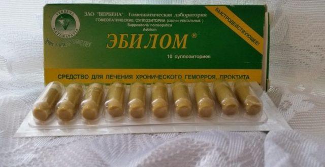 Обзор эффективных гомеопатических свечей от геморроя