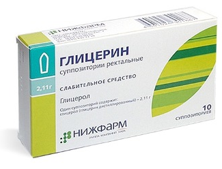 Свечи от геморроя с глицерином: инструкция по применению