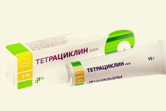 Тетрациклиновая мазь от геморроя: инструкция по применению