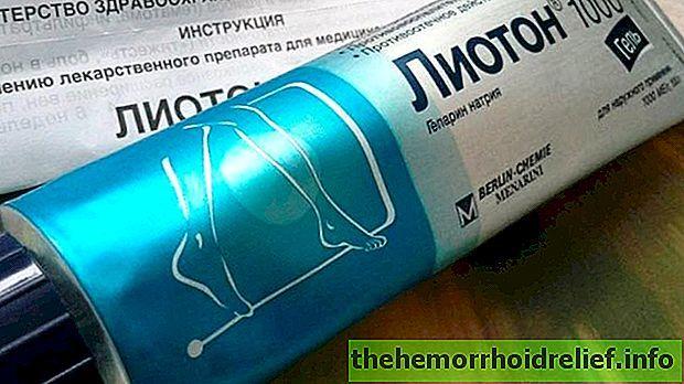 Гель Лиотон при геморрое: инструкция по применению