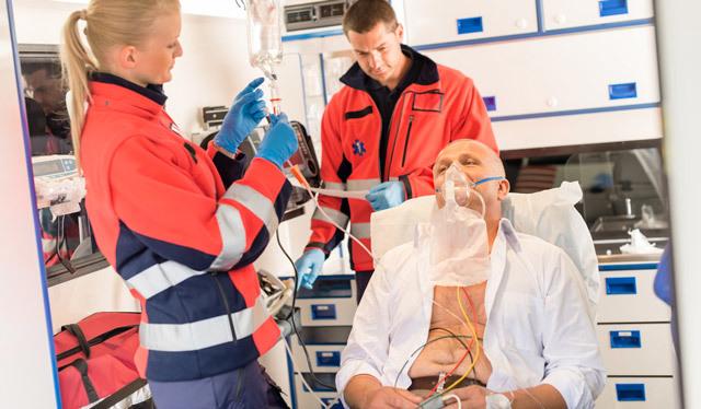 Легочное кровотечение: оказание первой помощи