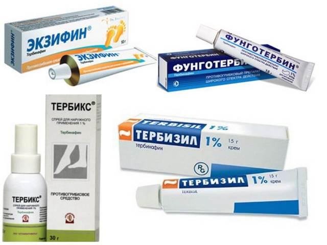 Тербинафин крем: инструкция по применению для лечения грибка, отзывы, аналоги