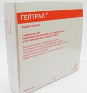 Гептрал: краткая инструкция по применению таблеток и лиофилизата для инъекций, состав, производитель, показания, как принимать, обзор отзывов и аналогов