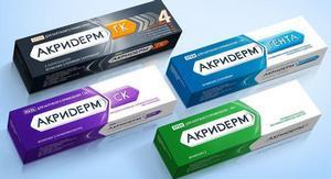 Акридерм: инструкция по применению крема и мази, показания, отзывы, цена, аналоги