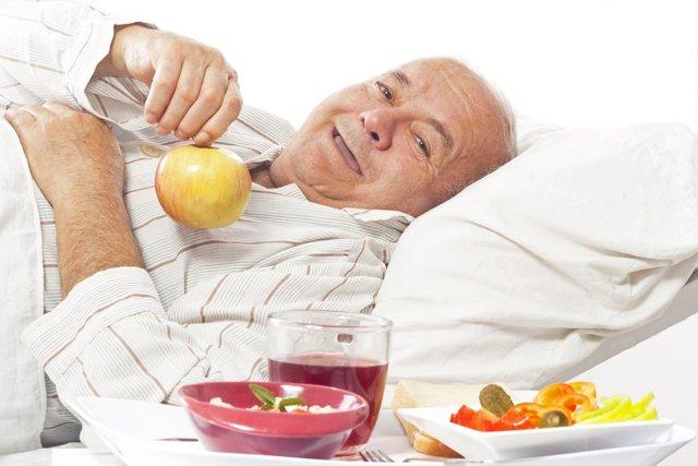 Какая требуется диета при раке легких