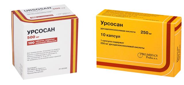 Урсосан: состав капсул и таблеток, производитель, обзор инструкции и отзывов о применени, как принимать, побочные действия, аналоги и что из них лучше