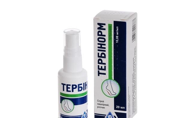 Тербинафин спрей от грибка: инструкция по применению, цена, отзывы, аналоги