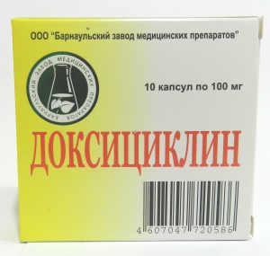 Доксициклин при бронхите: особенности применения
