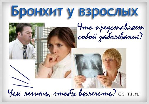 Характерные Симптомы и Лечение Бронхита у Взрослых