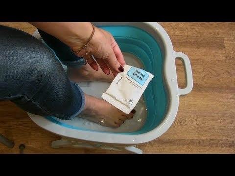 Марганцовка от грибка ногтей: правила применения, эффективные рецепты и отзывы