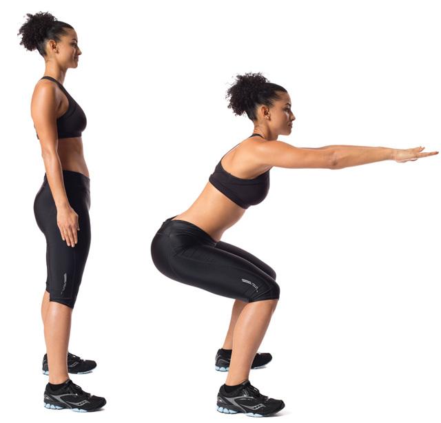 Приседания от целлюлита: помогают ли бег, скакалка и другие физические упражнения