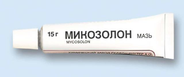 Микозолон: инструкция по применению, цена, отзывы, аналоги, противопоказания