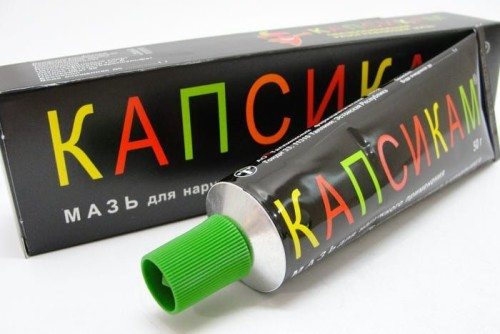 Капсикам от целлюлита: правила применения мази, побочные эффекты и противопоказания