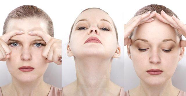 Как убрать морщину на переносице в домашних условиях: маски, кремы, массаж, гимнастика