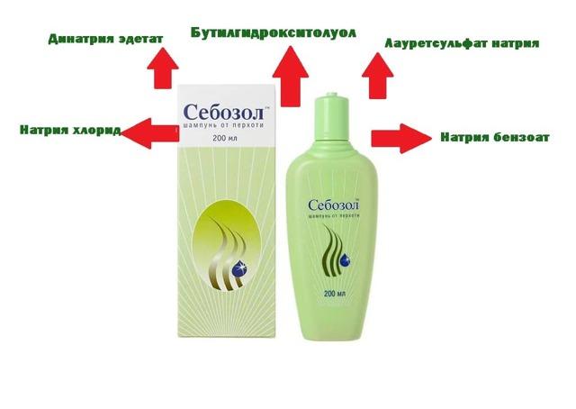 Себозол (шампунь): цена, отзывы, показания к применению, состав, инструкция, аналоги