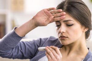 Сколько держится температура при бронхите у взрослых и от чего это зависит