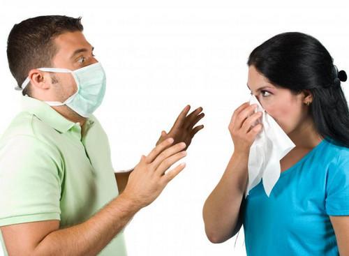Рассмотрим как передается пневмония