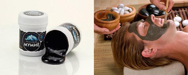 Мумие для лица от морщин: применение в домашних условиях, эффективные рецепты